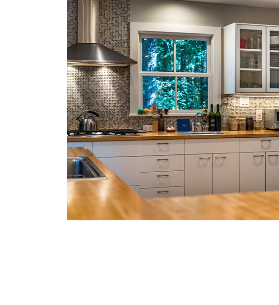 Photo of contemporary kitchen