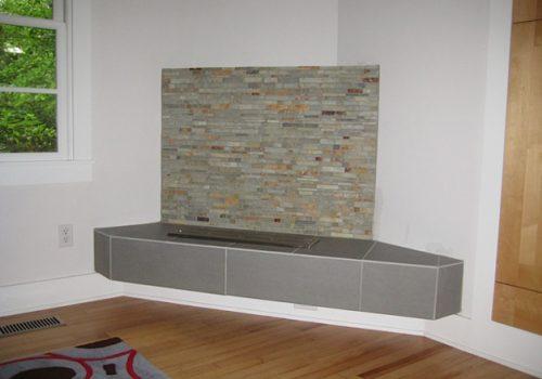 Modern Fireplace - Image 3