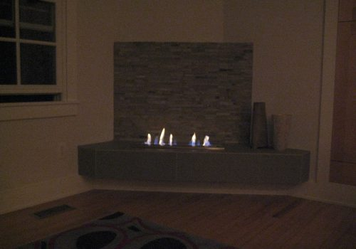 Modern Fireplace - Image 4
